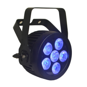 Mini IP65 Outdoor LED PAR Stage Light with IP65 Powercon and DMX 512 XLR Connector pictures & photos