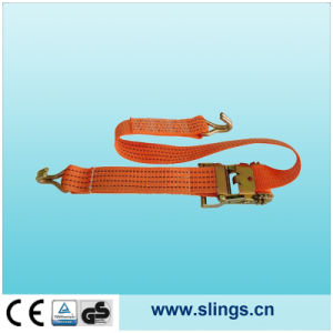 2017 Ratchet Strap with Aluminium Handle and Double J Hook pictures & photos