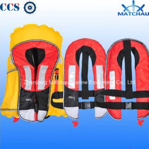 Fishing and Swimming Use Inflatable Life Vest pictures & photos