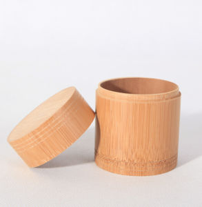 Customized Size Tea Storage Bamboo Canister pictures & photos