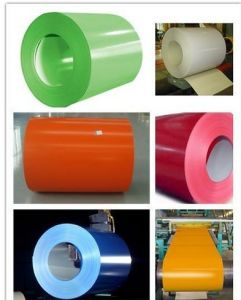 Prepainted Galvanised Steel/PPGI/Color Coated Coil pictures & photos