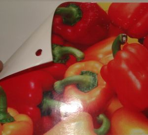 Self-Adhesive Vinyl Film White Glue 140 pictures & photos