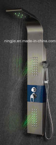 Massage Stainless Steel Shower Panel with LED Nj-9882 pictures & photos