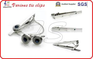 Tieclip and Cufflinks with Gift Box pictures & photos