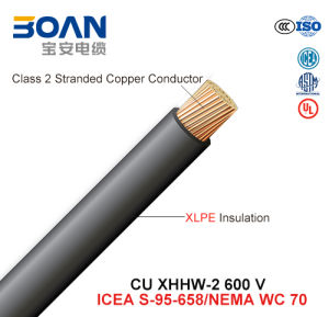 Cu Xhhw-2, Building Wire, 600 V, Cu/XLPE (UL44/ICEA S-95-658/NEMA WC70) pictures & photos