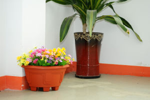 Vertical Flower Pot for Home Decoration
