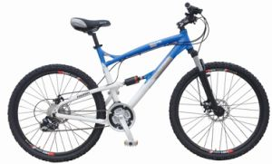 "26""off Road Bike, Full Suspension Mountain Bicycle (FP-MTB-FS019) pictures & photos"