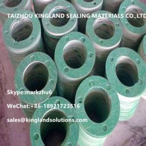 (KLG473) Oil-Resistance Asbestos Flange Gasket pictures & photos