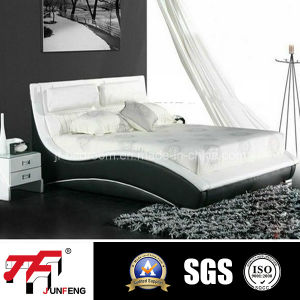 fashion Leather Bed (J-07) pictures & photos