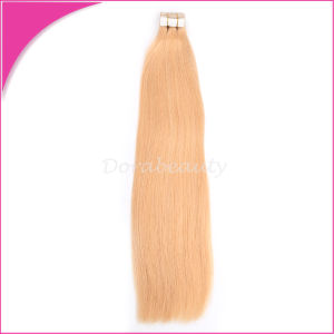 Human Hair Brazilian Tape Hair Virgin Hair Extension pictures & photos