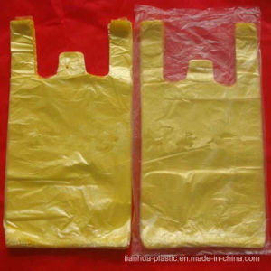HDPE T-Shirt Veat Carrier Plastic Shopping Bag