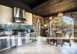 304 Stainless Steel Outdoor Kitchen with BBQ (WH-D837)