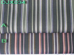 Fancy Stripes Yarn Dyed Fabric Shirting Djx034 pictures & photos