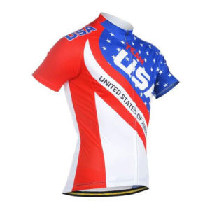 Custom Sublimated Cycling Wear Bicycle Wear Bike Wear for USA Clubs pictures & photos