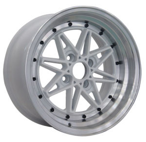 Alloy Wheel with Black Finishing (LW372) pictures & photos