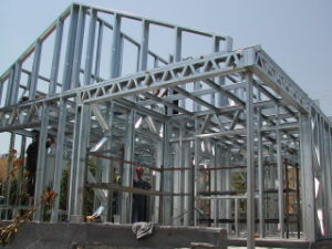 C-Type Purlin Welded H-Beam Steel Structure/Warehouse/Workshop/House/Building/Frame pictures & photos
