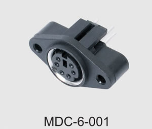 Mini DIN Connector (MDC-6-001) pictures & photos