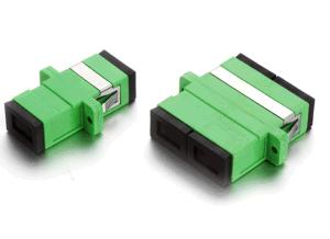Sc/APC-Sc/APC Duplex Fiber Optic Adapter pictures & photos