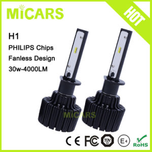 New Design Super Bright 12V Best Selling Car Fanless LED Headlight pictures & photos