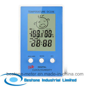 Hygro-Thermometer Clock (DC106) pictures & photos