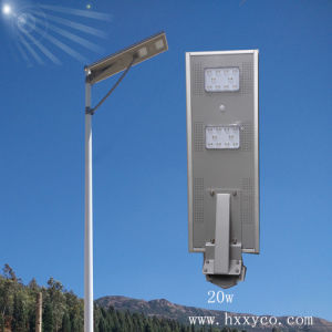 20W All in One Solar Power Street Light pictures & photos