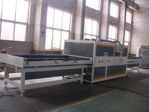 PVC Vacuum Membrane Press Machine for Making Door and Cabinet pictures & photos