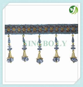 Polyester Tassel Fringe Curtain Tassel Trimming pictures & photos