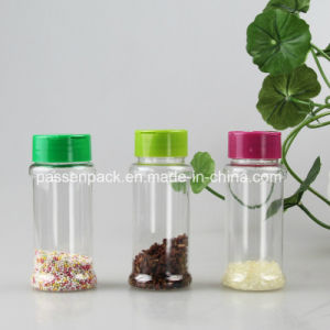 Plastic Kitchen Salt and Pepper Shake Bottle with Flip Cap (PPC-PSB-27) pictures & photos