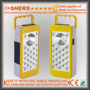 Dimming Solar Emergency Light with 1W Flashlight, Dimmable Switch (SH-1969) pictures & photos