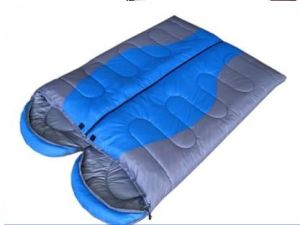 Adult Outsunny 2 Person Double Wide Sleeping Bag with Pillows pictures & photos