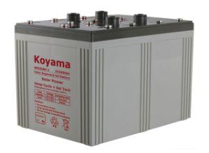 Professional 24V Solar Battery 2V2000ah pictures & photos