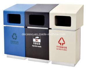 New Design Dustbin for Shopping Mall (DK26) pictures & photos