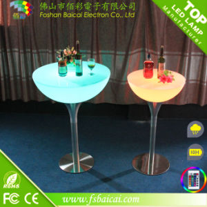 LED Bar Cocktail Table with Light Color Change & Remote Control pictures & photos