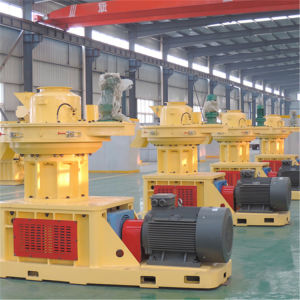 Large Scale Ring Die Vertical Dobule Sizes Grass Wood Sawdust Alfalfa Bamboo Pelletizer Machinery Price pictures & photos