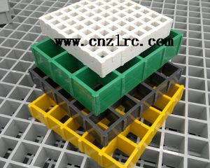 Factory Supply Fiberglass FRP GRP Grid/ Mesh Grid pictures & photos