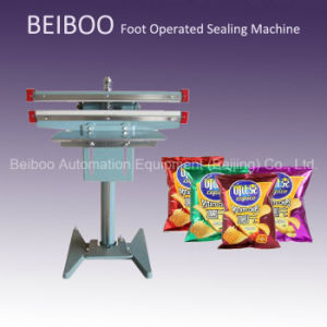 Semi Automatic Foot Stamping Sealing Machine (RS-350) pictures & photos
