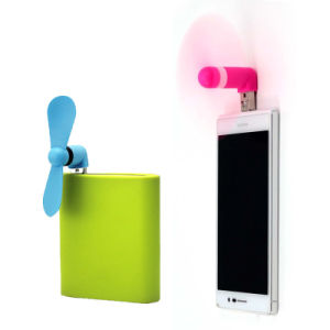 2 in 1 Mobile Phone Mini Fan Micro USB Electric Fan for Android Phone Samsung HTC pictures & photos