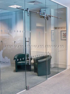 8mm, 10mm, 12mm Tempered Glass Door pictures & photos