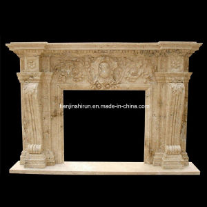 Marble Statuary Fire Surround Mantel Fireplace (L1-17) pictures & photos