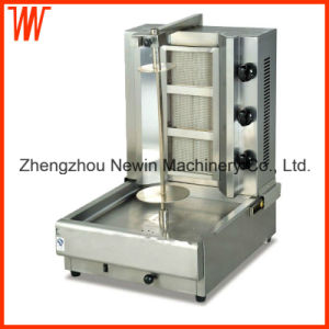 3 Burner Gas Chicken Shawarma Machine Price pictures & photos