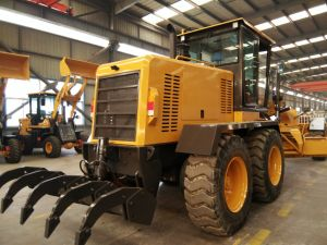 China Road Construction Machine Land Leveling Equipment 200HP Hydraulic Motor Grader Py200 pictures & photos