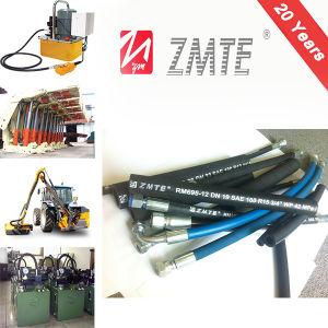 SAE 100r15 Heavy Duty High Impulse Hydraulic Rubber Hose pictures & photos