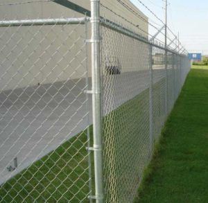 Galvanized Chainlink Fence (S03)