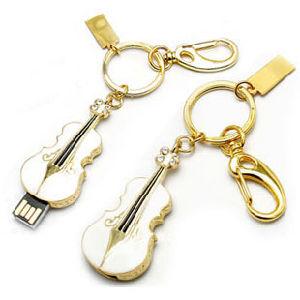 Crystal Violin USB Stick, Jewelry USB Flash Drive