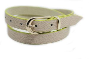 Women′s Fashion Skinny Belt and PU Belt