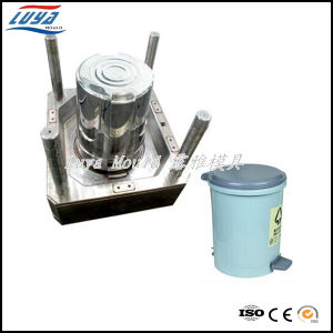 High Precision Plastic Injection Mould for Dustbin