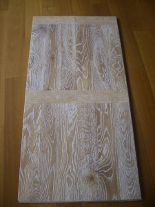 Eir Wooden Laminate Flooring 12mm of Pressed Beveled Edge pictures & photos