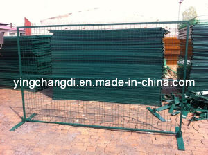 Canada Temp Fencing Panel PVC Coated Galvanized Wire Mesh Fence for Construction