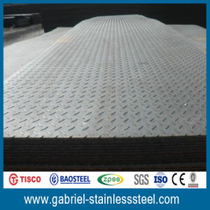 201 Checkered Stainless Steel Plate pictures & photos