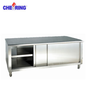 Commercial Work Top Table Cabinet pictures & photos